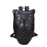 Рюкзак сова (филин) черный