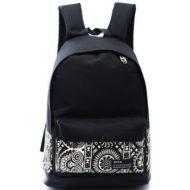 Рюкзак черный с орнаментом