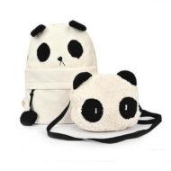 Рюкзак с сумкой Панда
