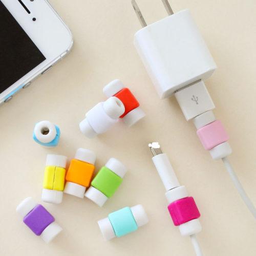 Протектор для защиты кабеля телефона