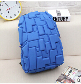 Рюкзак 3D Block (синий)