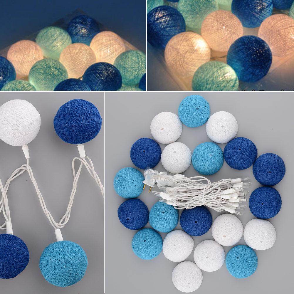 Как сделать гирлянду из шариков из ниток своими руками