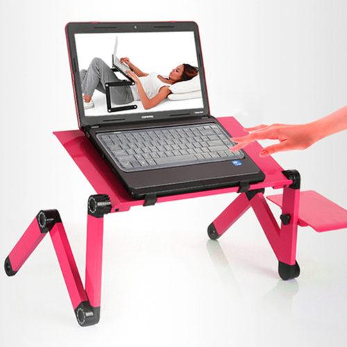 Столик для ноутбука Т6 (розовый)