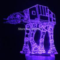 3D Светильник Имперский Шагоход Star Wars