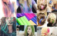 Мелки для волос, 6 цветов