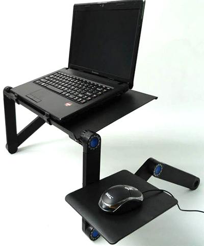 Столик для ноутбука Т5 (черный)