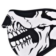 Неопреновая маска на пол-лица Череп