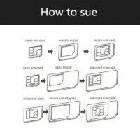 Набор адаптеров sim-карт (5 в 1)