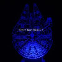 3D Светильник Сокол тысячелетия Star Wars