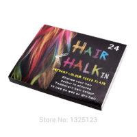 Мелки для волос, 24 цвета