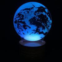 3D Светильник Земля