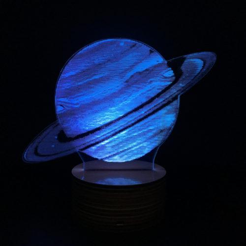 3D Светильник Юпитер