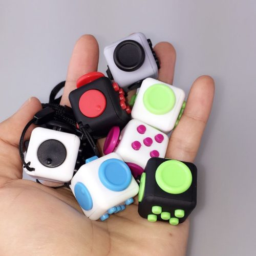 Кубик-антистресс Fidget Cube (брелок)