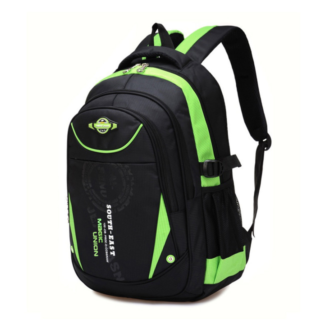 328afb47ab32 Рюкзак школьный (черный с зеленым) в СПб - купить в интернет ...