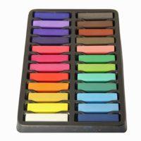 Мелки для волос (маленькие), 24 цвета
