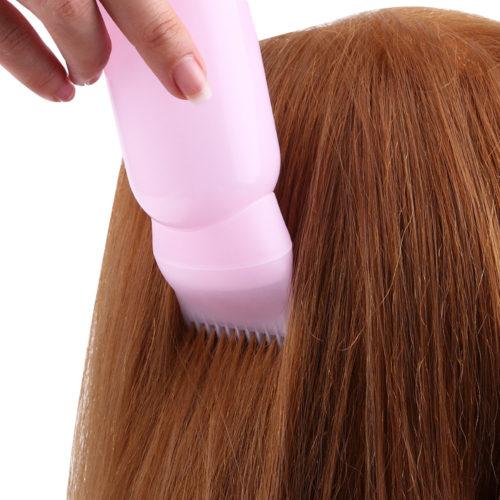 Бутылка расческа для окрашивания волос