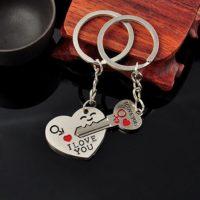 Парный брелок Ключ от сердца