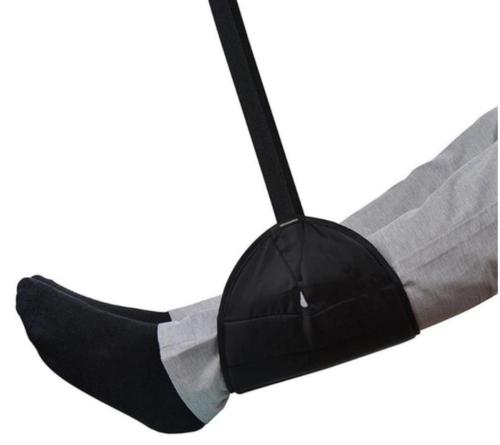 Гамак для ног в путешествии