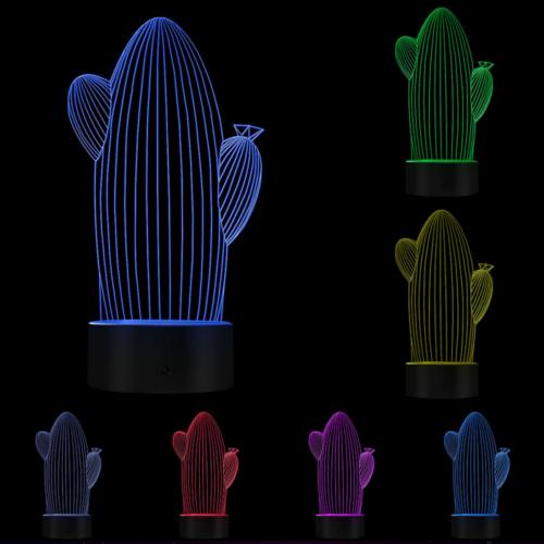 3D Светильник Кактус