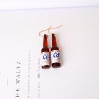 Серьги Бутылочки пива