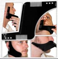 Трафарет для бороды