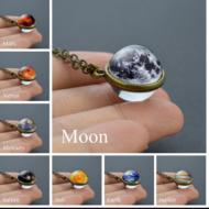 Ожерелье Галактика на цепочке