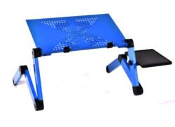 Столик для ноутбука с кулером К5 (синий)